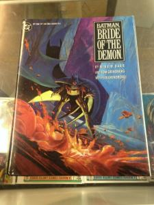 Batman Bride of the Demon Hardcover