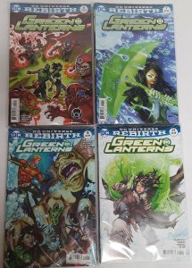 Green Lanterns  - Rebirth #1 and #1-31... All NM ... Variant Covers