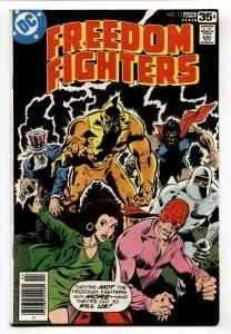 Freedom Fighters #13-1978-Origin of the BLACK CONDOR-DC
