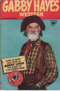GABBY HAYES WESTERN #3 1949 FAWCETT EGYPTIAN COLLECTION VG
