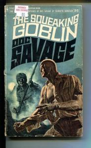 DOC SAVAGE-THE SQUEAKING GOBLIN-#35-ROBESON-G-JAMES BAMA COVER-1ST EDITION G