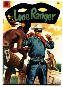 THE LONE RANGER #86 comic book-1955-DELL-TONTO-SCOUT-SILVER-SILVER BULLET