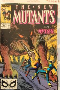 New Mutants  82  VG/FN