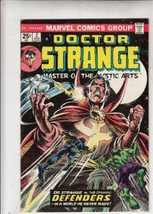 Doctor Strange #2 (Aug-74) VF+ High-Grade Dr.Strange