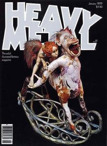 Heavy Metal #22 FN; Metal Mammoth | save on shipping - details inside