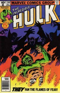 Incredible Hulk, The #240 (Newsstand) VG; Marvel | low grade comic - save on shi
