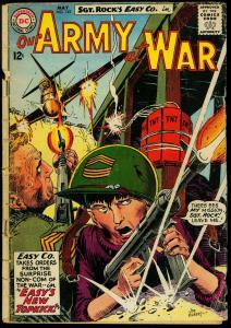 Our Army at War #142 1964- Sgt Rock- DC War comic- Kubert cover FAIR
