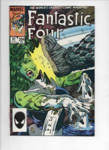 FANTASTIC FOUR #284 VF/NM She Hulk, Byrne 1961 1985 Marvel, more FF in store
