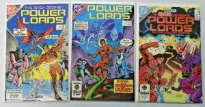 Power Lords set #1 to #3 all 3 different books 8.0 VF (1983)