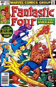 Fantastic Four (1961 series) #218, VF+ (Stock photo)