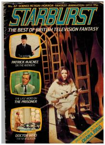 Starburst # 67 GD/VG British Television Fantasy Magazine Avengers Doctor Who S74