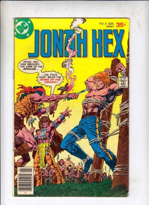 Jonah Hex #8 (Jan-78) VG Affordable-Grade Jonah Hex