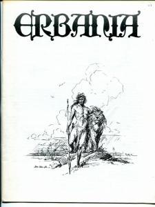 Erbania #43 1978 -Edgar Rice Burroughs-Tarzan-Roy Krenkel-info-pix- FN/VF