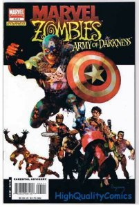 MARVEL ZOMBIES vs ARMY OF DARKNESS #4, Suydam, 2007, NM-, more AOD in store