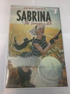 Sabrina The Teenage Witch 1 Nm Near Mint Hughes Variant Archie Comics