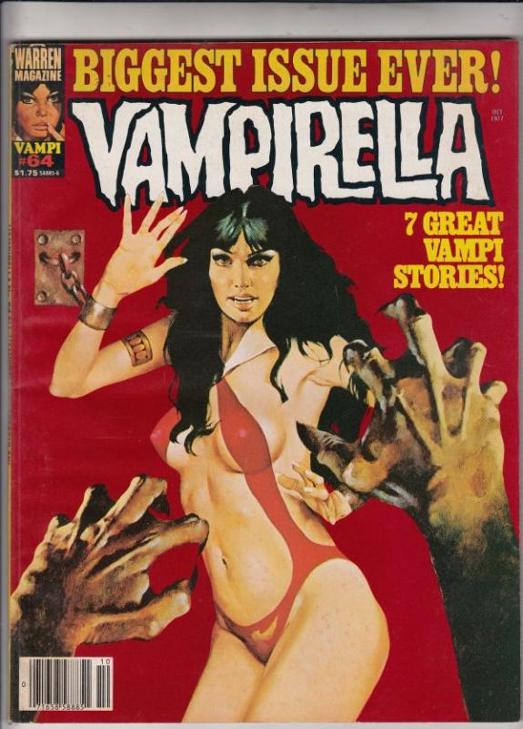 Vampirella Magazine #64 (Oct-77) VF/NM High-Grade