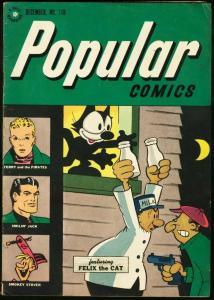 POPULAR COMICS #118-1945-FELIX THE CAT-TERRY & PIRATES VG