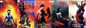 DARK TOWER LONG ROAD HOME (2008) 1-5  Stephen King COMICS BOOK