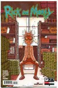 RICK and MORTY #19, 1st, VF+, Grandpa, Oni Press, from Cartoon 2015