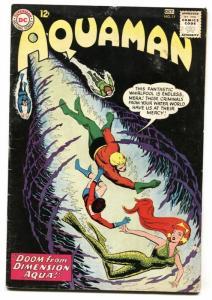 Aquaman #11 comic book First Mera - DC  Silver-Age VG