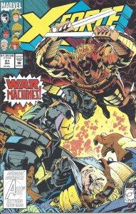X-Force #21 (April 1993) - Deadpool, Domino, War Machine, S.H.I.E.L.D., Copycat