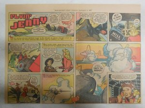 Flying Jenny Sunday Page by Russell Keaton from 1/17/1943 Size: 11 x 15 inches