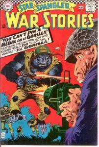 STAR SPANGLED WAR 126 VF+  May 1966 COMICS BOOK