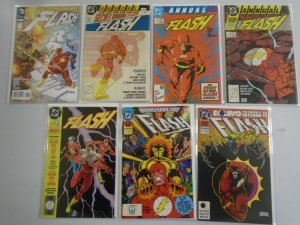 The Flash lot Annuals and Specials 21 different issues 8.0 VF