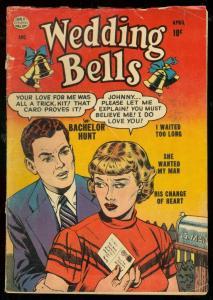 WEDDING BELLS #2 1954-QUALITY COMICS-ROMANCE-RARE G