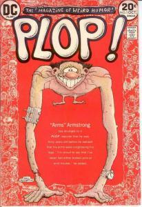 PLOP 1 F WRIGHTSON Oct. 1973 COMICS BOOK