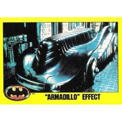 1989 Batman The Movie Series 2 Topps ARMADILLO EFFECT #141 EX