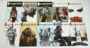 Empty Zone #1-10 VF/NM complete series - jason shawn alexander image comics set