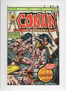 CONAN the BARBARIAN #58 FN, Buscema, Howard, 1970 1976, Belit