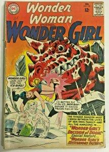WONDER WOMAN#152 VG/FN 1965 DC SILVER AGE COMICS