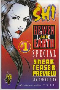Shi: Heaven And Earth Ashcan #1A VF/NM; Crusade | save on shipping - details ins
