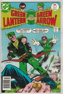 Green Lantern #95 (Aug-77) VF/NM High-Grade Green Lantern, Green Arrow, Black...