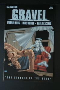 Gravel #2 by Warren Ellis Avatar Comics March 2009