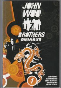 7 Brothers Omni - Jonathan Hickman Direct Market Cover