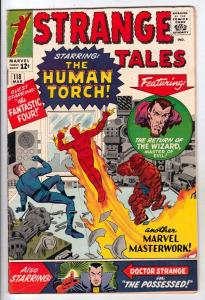 Strange Tales #118 (Mar-64) VF/NM High-Grade Human Torch, Doctor Strange