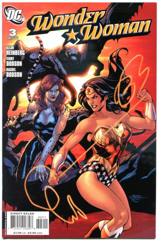 WONDER WOMAN 1 2 3 4 5 6 7, 11 12, NM, Terry Dodson, Amazon, 2006, 9 issues