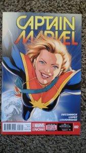 Captain Marvel #2 (2014) VF-NM