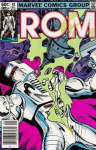 Rom (1979 series) #42, VF+ (Stock photo)