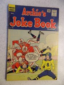 ARCHIE'S JOKE BOOK # 75 ARCHIE JUGHEAD VERONICA BETTY RIVERDALE CARTOON