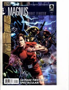 Magnus Robot Fighter # 1 NM Dark Horse Variant Cover Comic Book Jim Shooter BN1