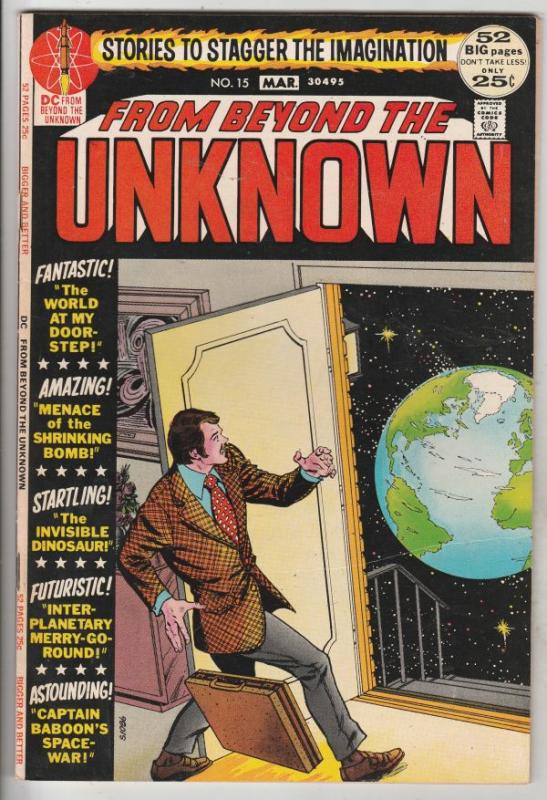From Beyond the Unknown #15 (Mar-72) VF/NM High-Grade