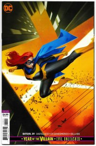 Batgirl #39 Dekal YOTV Card Stock Variant (DC, 2019) NM