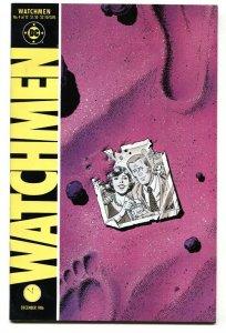 WATCHMEN #4-1986-DAVID GIBBONS-ALAN MOORE-DC COMICS nm-