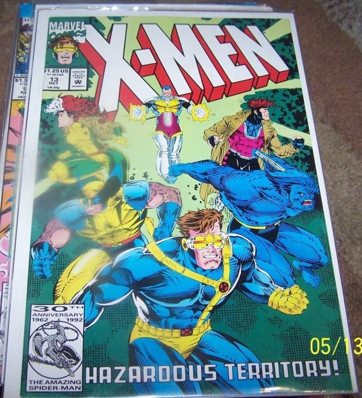 X Men # 13  1992, Marvel) hazard + rogue+gambit+wolverine+beast