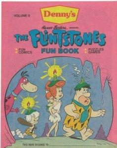 Flintstones Fun Book #9 ORIGINAL Vintage 1988 Denny's Promotional Comic