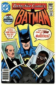 DETECTIVE COMICS #501 1st Julia Pennyworth 1981-BATMAN-BATGIRL-ROBIN